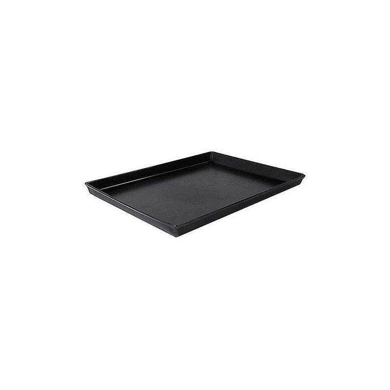 Plat de cuisson rectangulaire pour four à bois