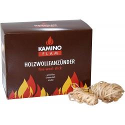 Allume-feux en bois naturel - 28 pièces